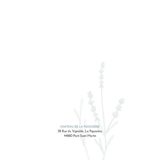 Faire-part de mariage Botanique bleu - Page 2