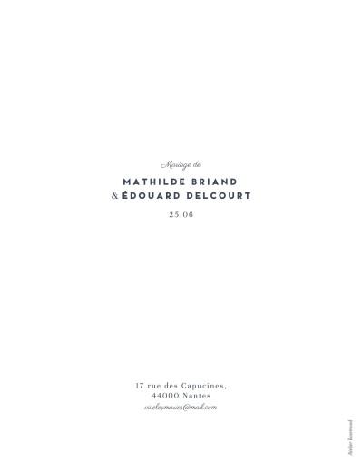 Faire-part de mariage Swing (portrait) blanc - Page 2