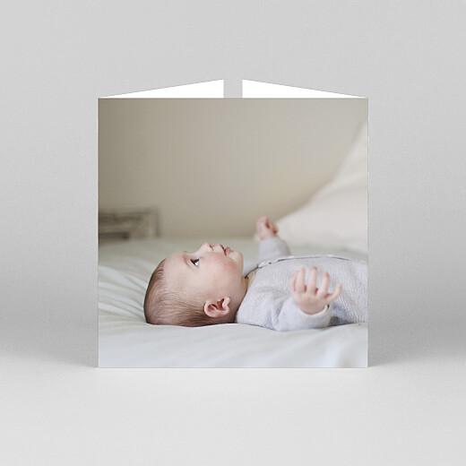 Faire-part de naissance Doux rêves (fenêtre) ocre - Vue 3