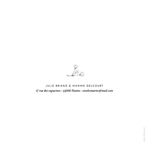 Faire-part de mariage Joli brin beige - Page 4