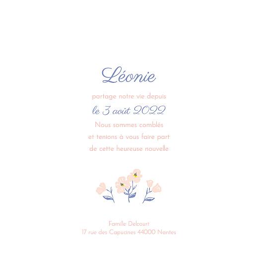 Faire-part de naissance Blossom (4 pages) rose - Page 3
