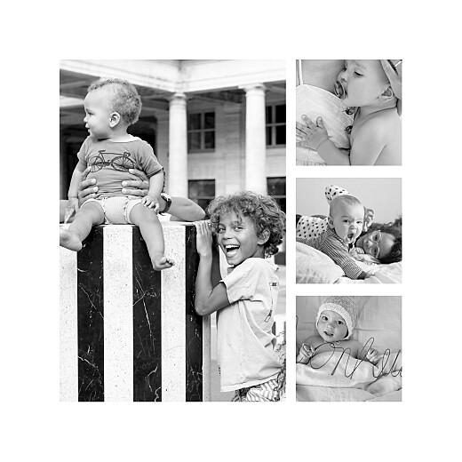 Faire-part de naissance Terrazzo 5 photos foncé - Page 2
