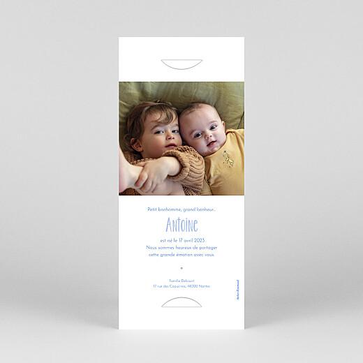 Faire-part de naissance Douce savane (marque-page) beige - Vue 4