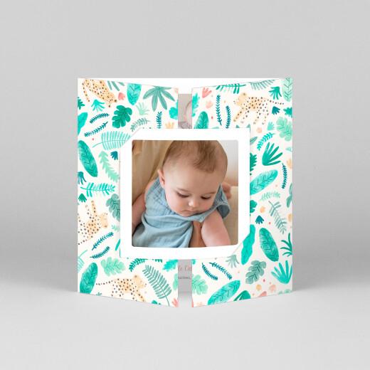 Faire-part de naissance Petite tropique (fenêtre) - Vue 1